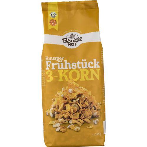 Mic dejun crocant cu 3 cereale fara gluten Bauck Hof