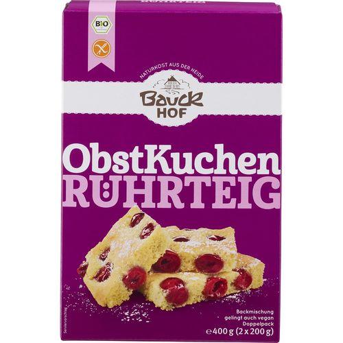 Mix de faina pentru prajituri cu fructe fara gluten Bauck Hof