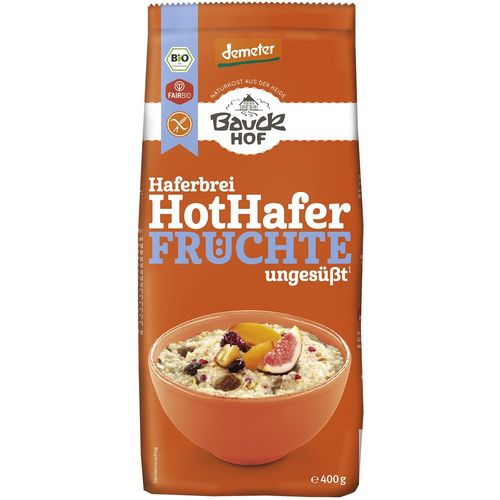 Terci bio cu ovaz si fructe fara gluten Bauck Hof