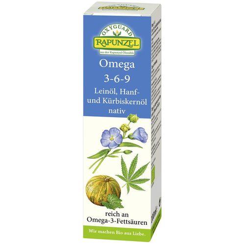 Ulei oxyguard omega 3-6-9 virgin Rapunzel
