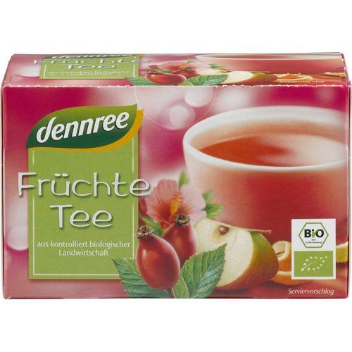 Ceai bio de fructe Dennree
