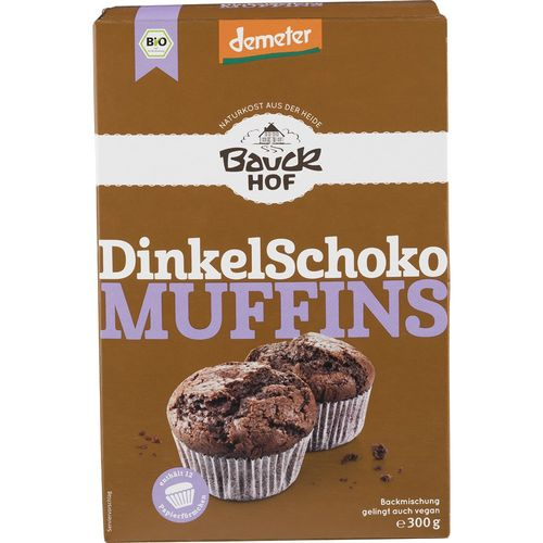Mix din spelta pentru muffins cu ciocolata demeter Bauck Hof
