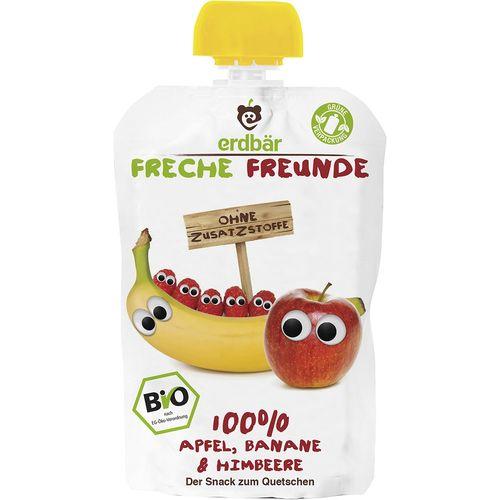 Piure ecologic de mere, banane si zmeura Erdbar Freunde