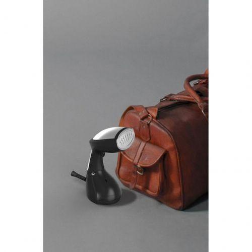 Aparat de călcat vertical portabil cu aburi SteamOne S-Travel (Black) [Gama NOMAD]