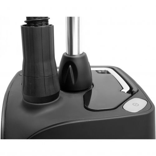 Aparat de călcat vertical cu aburi SteamOne PRO 1800 (Black Satin and Chrome) [Gama Professional]