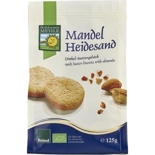 Biscuiti fragezi bio cu migdale Bohlsener Muehle