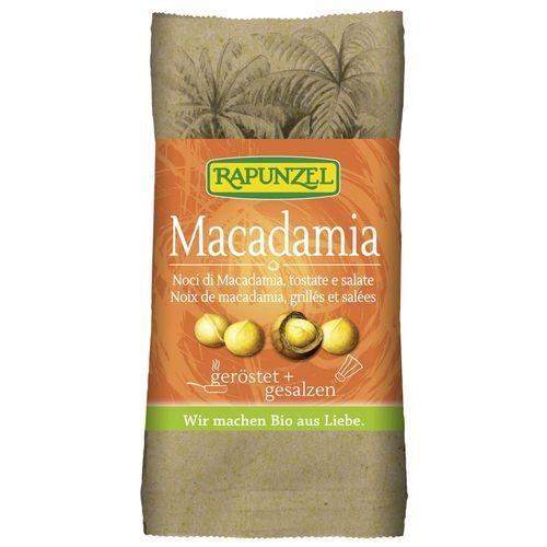 Nuci macadamia prajite si sarate Rapunzel