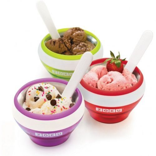 Zoku  Ice Cream Maker  rosu