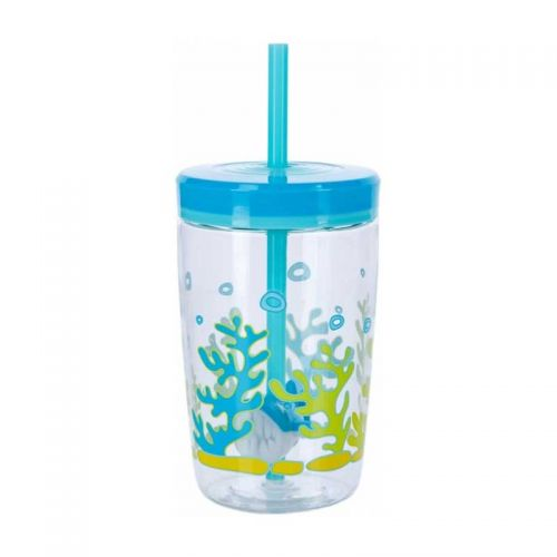 Contigo Bueno Floating Straw-Rechin 470 ml